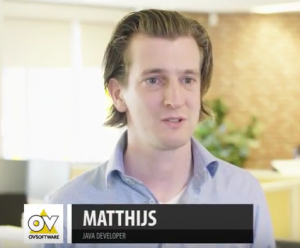 Java developer Matthijs over collega's OVSoftware